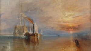 The Fighting Temeraire by JMW Turner - Source National Gallery