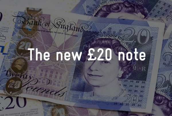 new £20 note feature image for hub