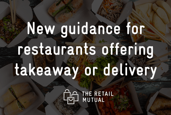 New guidance for restaurants offering takeaway or delivery