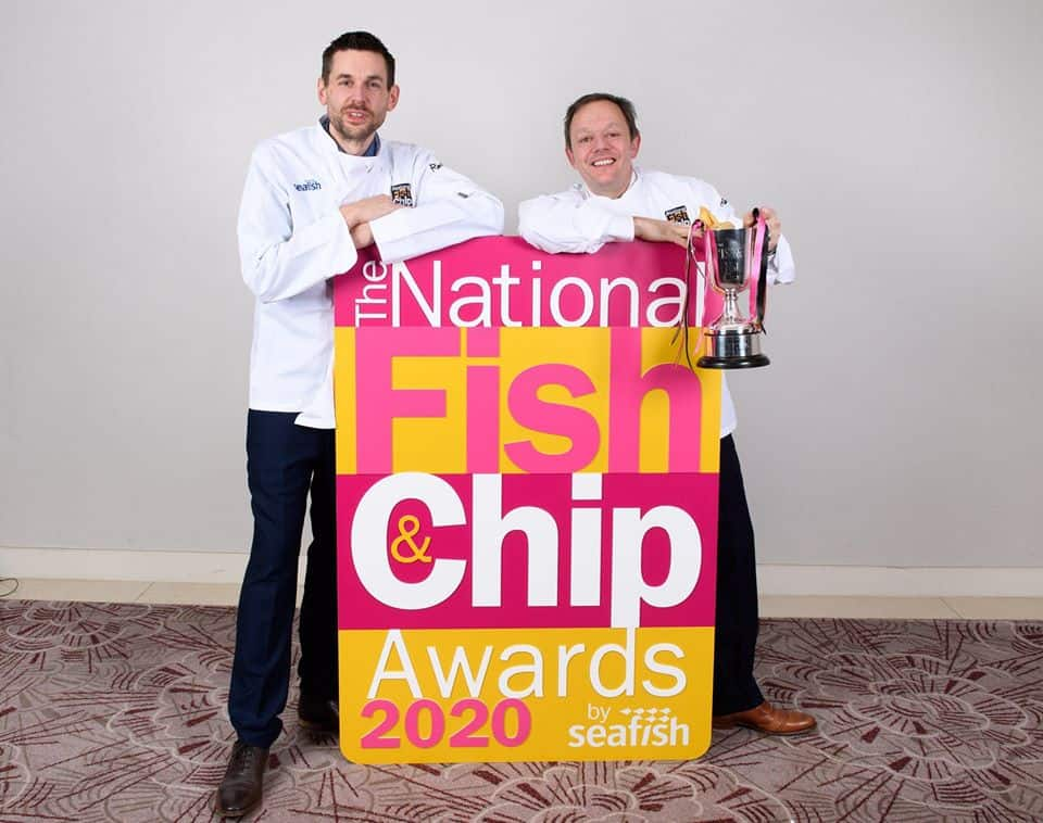 winners of the national fish and chip awards 2020
