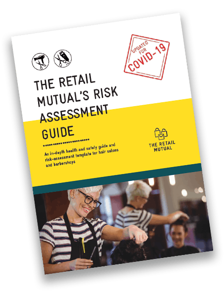 The Retail Mutual's Risk Assessment Guide Hairdresser and Barbershop front cover